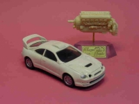 LLedo Toyota Rally Car resin