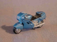 Matchbox BMW motorbike resin model
