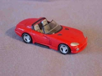 Matchbox Dodge Viper resin model (not produced)