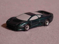 Matchbox Jaguar resin model