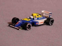 Matchbox resin Williams F1 car