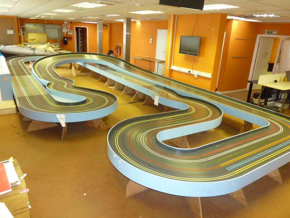 Wooden Slot Car Track